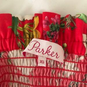 Parker Tops - PARKER - Penn Floral Off-the-Shoulder Top SZ XS